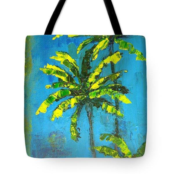 Palm Trees Tote Bag by Patricia Awapara