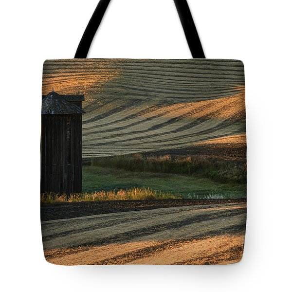 Palouse Sunset Tote Bag by Sandra Bronstein