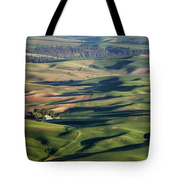 Palouse - Washington - Farms - #2 Tote Bag by Nikolyn McDonald