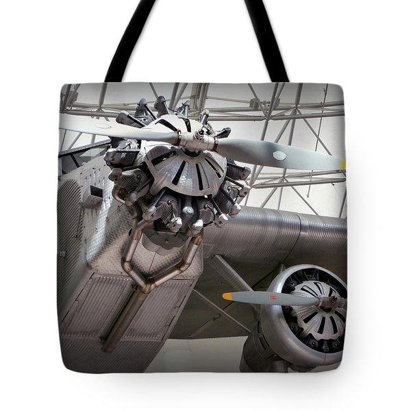 Pan Am Airplane Tote Bag by Karyn Robinson
