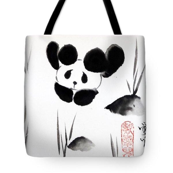 Panda Time Tote Bag by Oiyee  At Oystudio