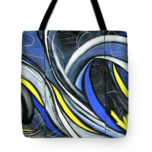 Pandemonium  Tote Bag by Karyn Robinson