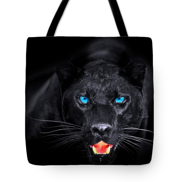 Panther Tote Bag by Jean raphael Fischer