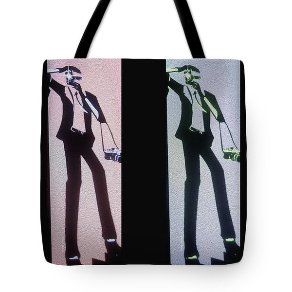 Paparazzi Tote Bag by Cheryl Young