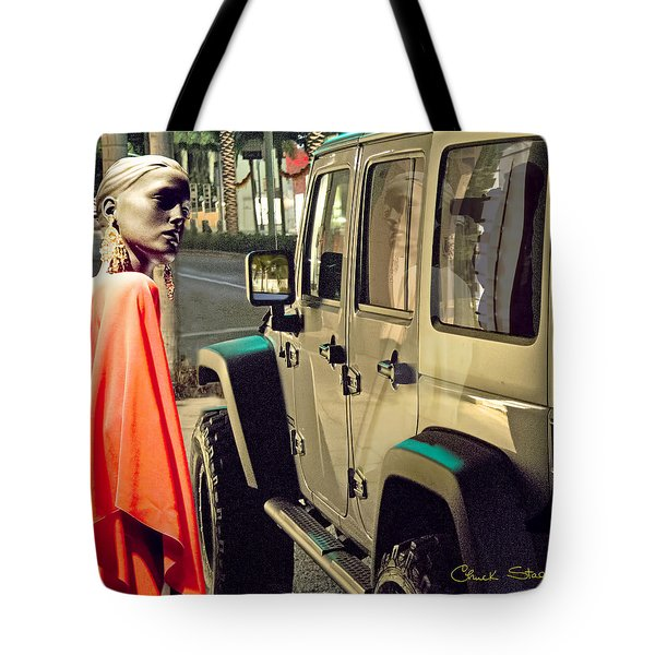 Paparazzi Tote Bag by Chuck Staley