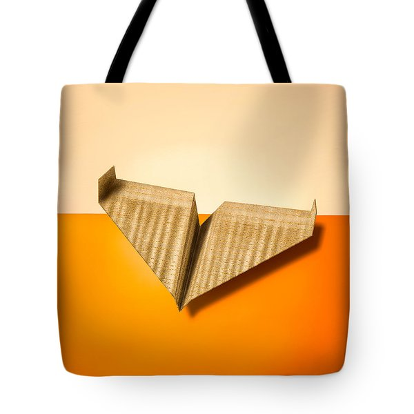 Paper Airplanes Of Wood 8 Tote Bag by Yo Pedro