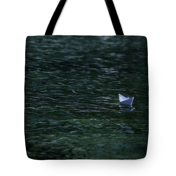 Paper Boat Tote Bag by Joana Kruse