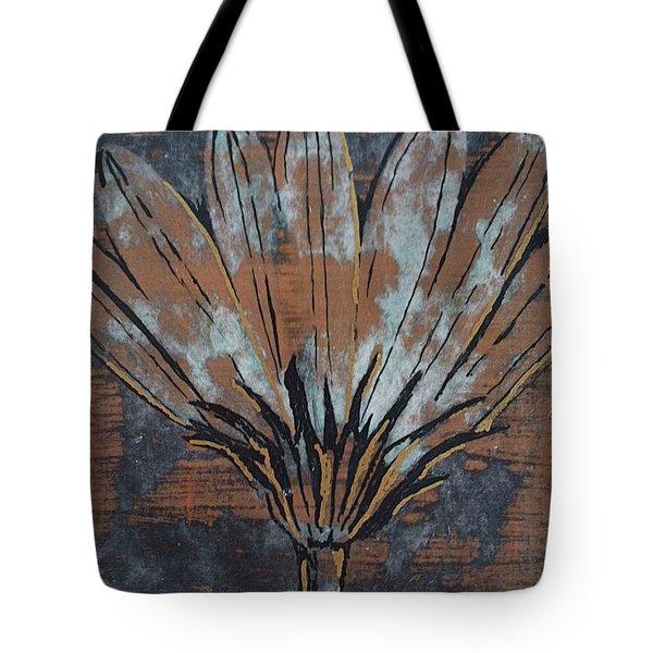 Paper Flower Tote Bag by Megan Washington