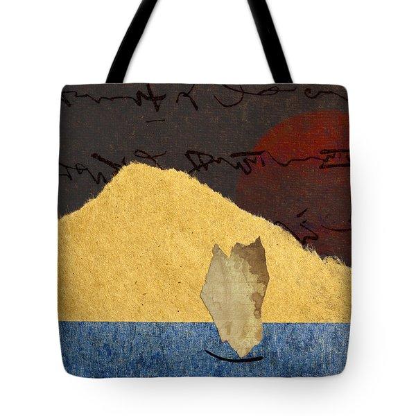 Paper Sail Tote Bag by Carol Leigh