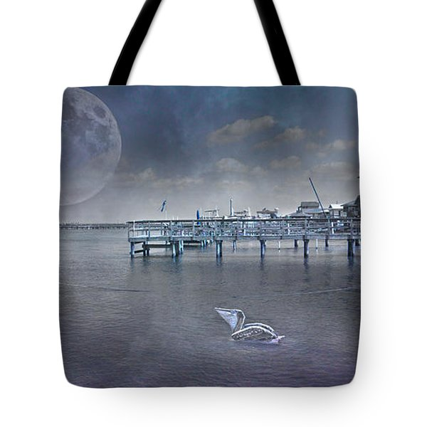 Paradise Cruise II Tote Bag by Betsy A  Cutler
