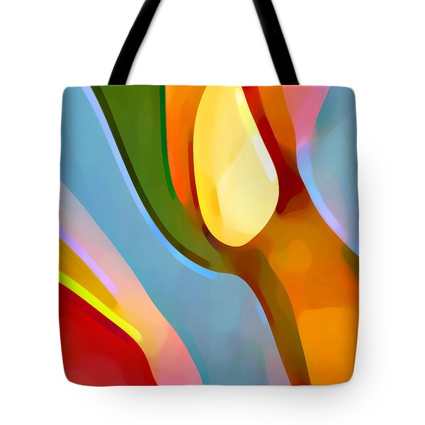 Paradise Found 6 Tote Bag by Amy Vangsgard