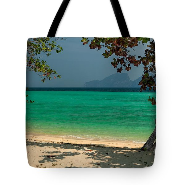 Paradise Found Tote Bag by Adrian Evans