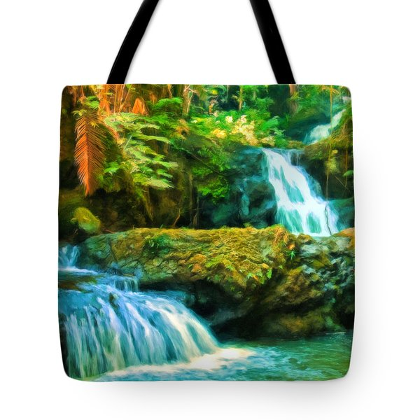 Paradise Found Tote Bag by Michael Pickett