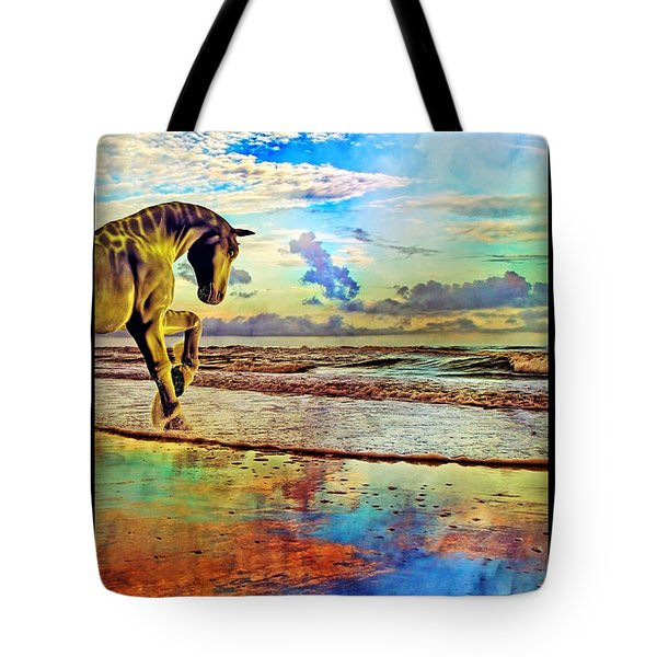 Paradise Sunset Tote Bag by Betsy A  Cutler