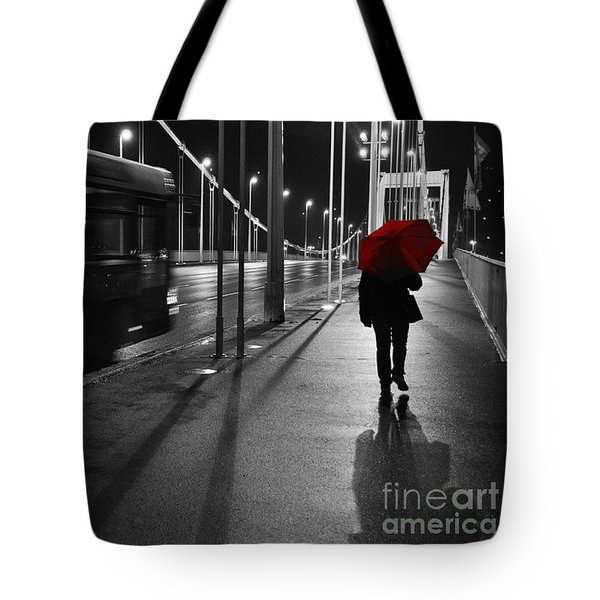 Parallel speed Tote Bag by Simona Ghidini