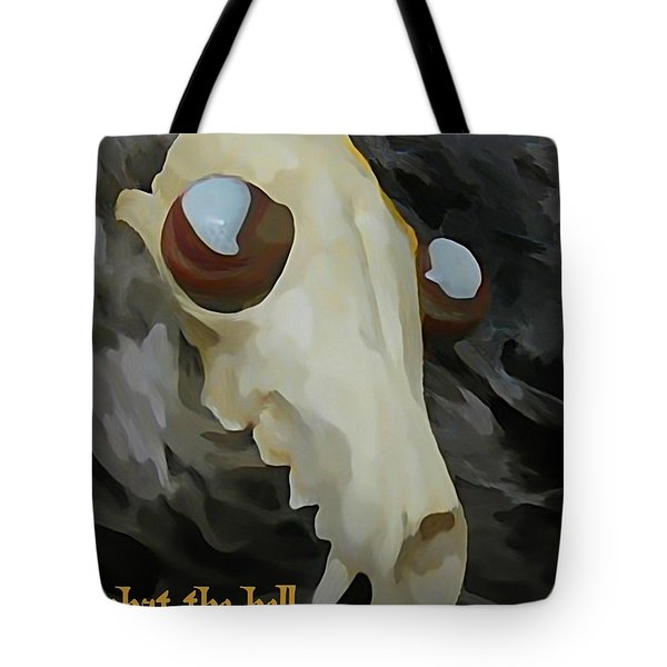 Paranoid Tote Bag by John Malone