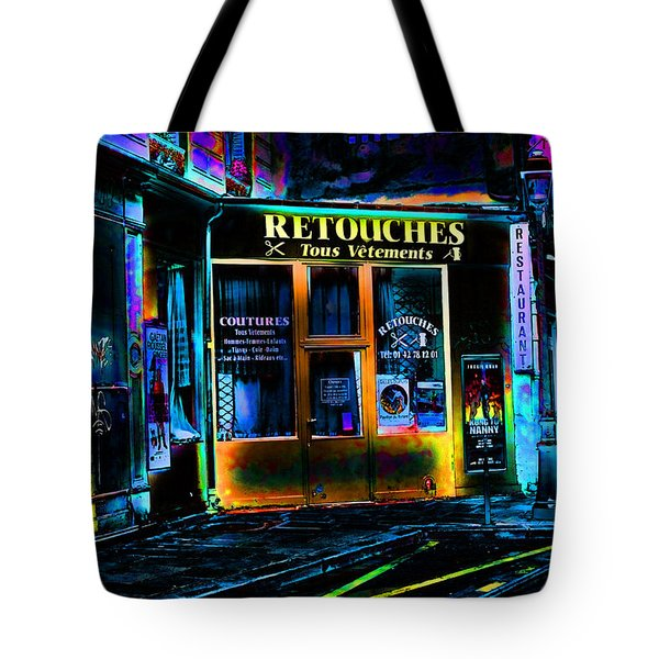 Paris At Night Tote Bag by EricaMaxine  Price