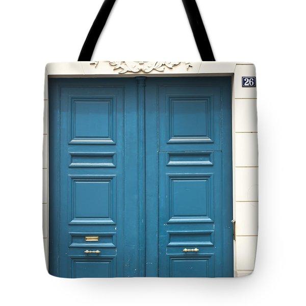 Paris Door Tote Bag by Nomad Art And  Design