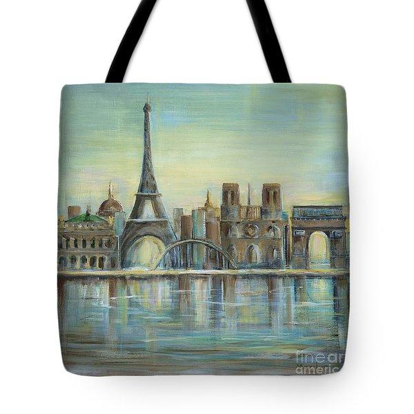Paris Highlights Tote Bag by Marilyn Dunlap