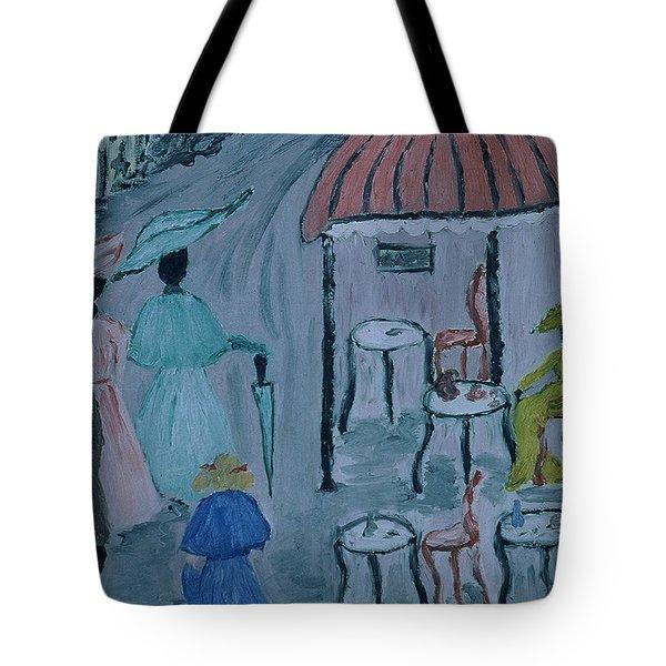 Paris Tote Bag by Inge Lewis