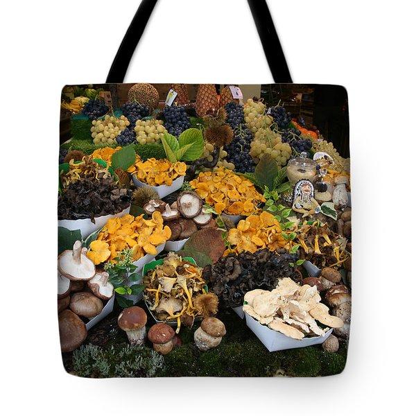Parisian Cornucopia Tote Bag by Randi Shenkman