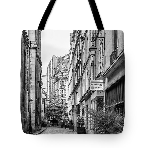 Parisian Street Tote Bag by Nomad Art And  Design