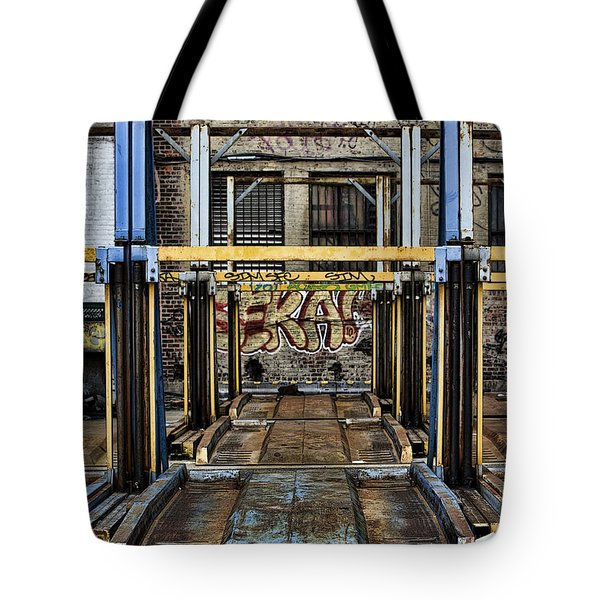 Parking Unreality Tote Bag by Joanna Madloch