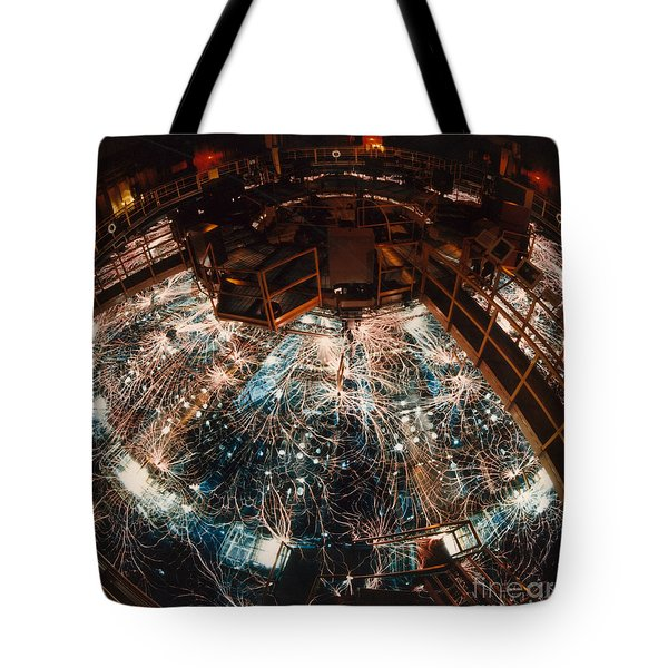 Particle Accelerator Tote Bag by Science Source