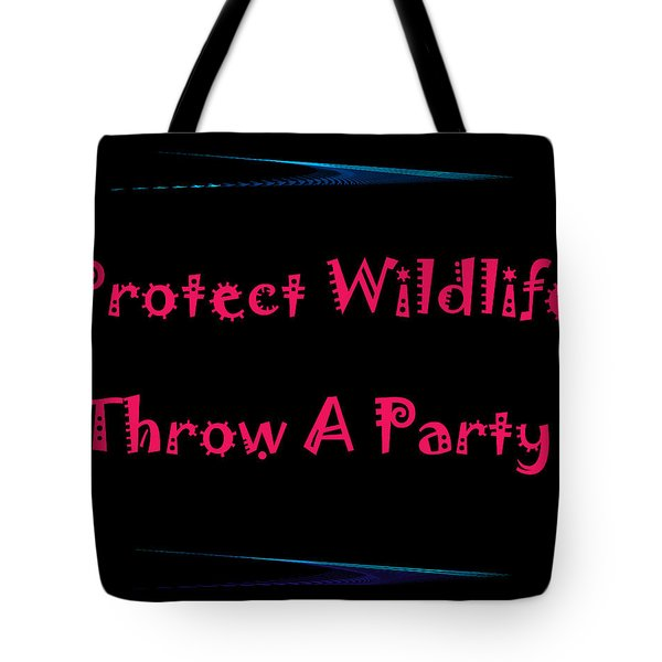 Party 4 Tote Bag by Aimee L Maher Photography and Art Visit ALMGallerydotcom