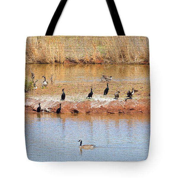Party Island Tote Bag by Betty LaRue
