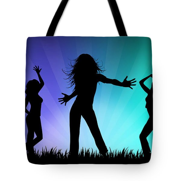 Party People Tote Bag by Aged Pixel