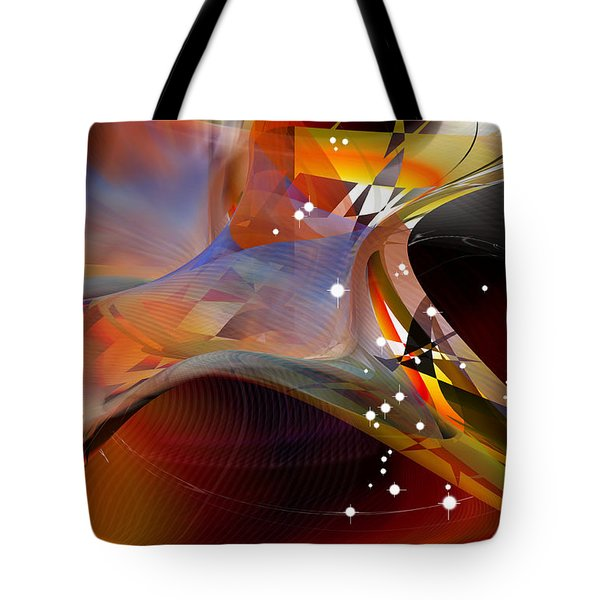 Passing Orion - Constellation Stars Tote Bag by Roy Erickson