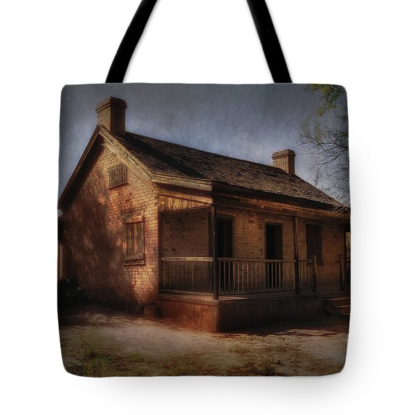 Passing The Time Tote Bag by Sandra Bronstein