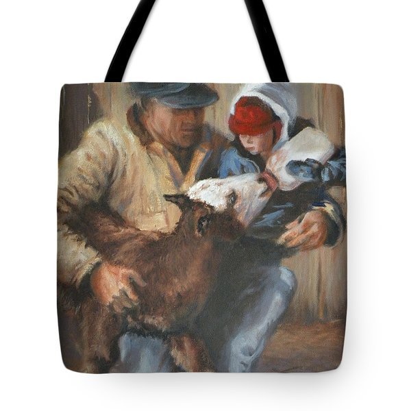 Passing The Torch Tote Bag by Mia DeLode