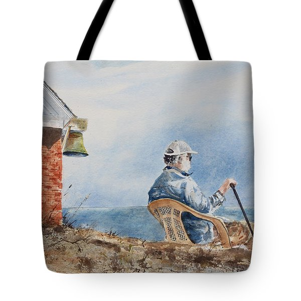 Passing Time Tote Bag by Monte Toon
