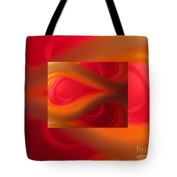 Passion Abstract 02 Tote Bag by Ausra Paulauskaite