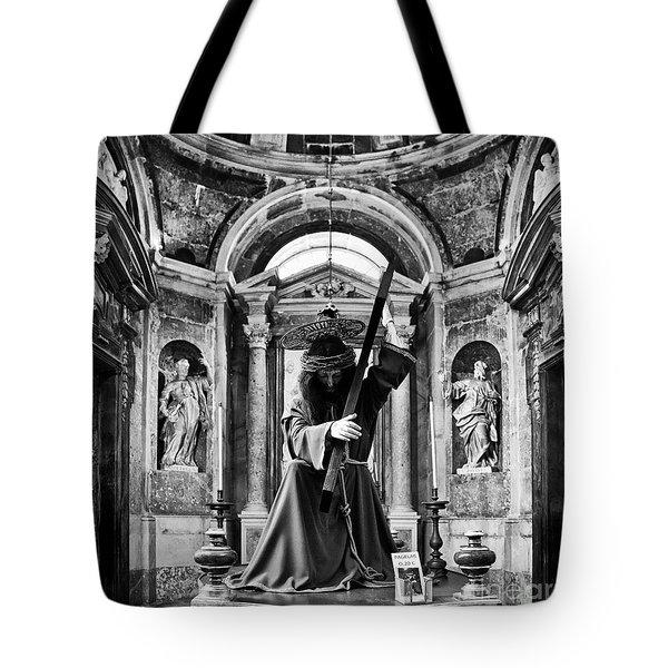 Passion Of Christ Tote Bag by Jose Elias - Sofia Pereira