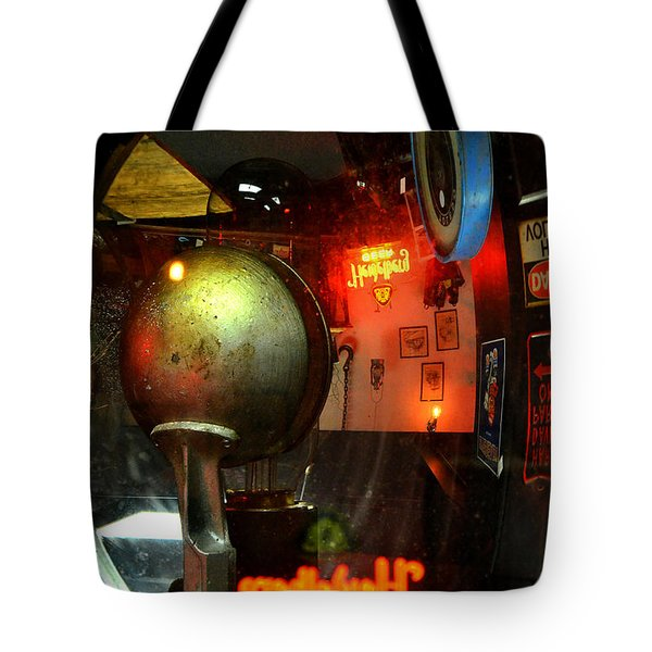 Past Tense 2 Tote Bag by Newel Hunter