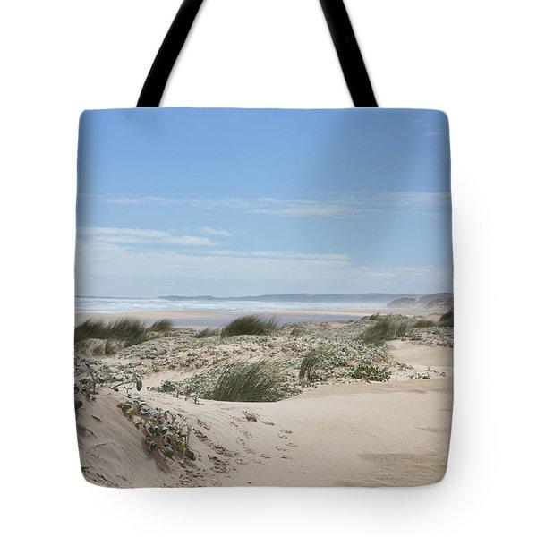 Pastel Dunes Tote Bag by Elaine Teague