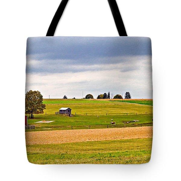 Pastoral Pennsylvania Tote Bag by Steve Harrington