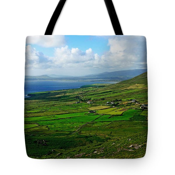 Patchwork Landscape Tote Bag by Aidan Moran