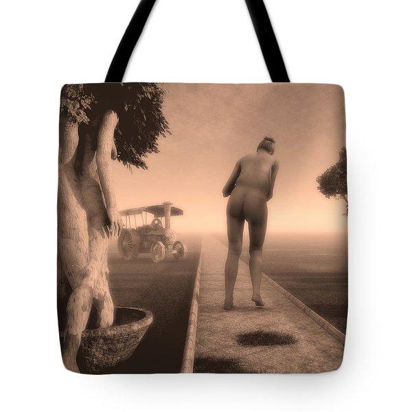 Path In Life Tote Bag by Bob Orsillo
