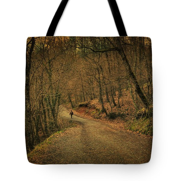 Path Tote Bag by Taylan Soyturk
