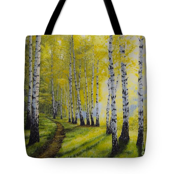 Path To Autumn Tote Bag by Veikko Suikkanen