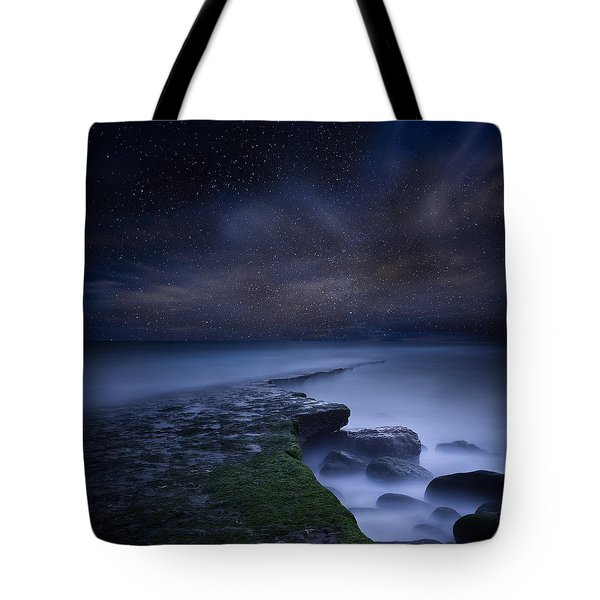 Path To Infinity Tote Bag by Jorge Maia