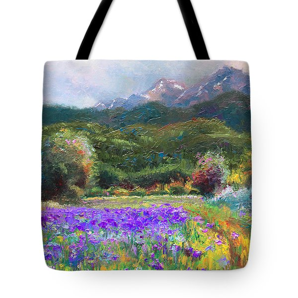 Path to Nowhere Tote Bag by Talya Johnson