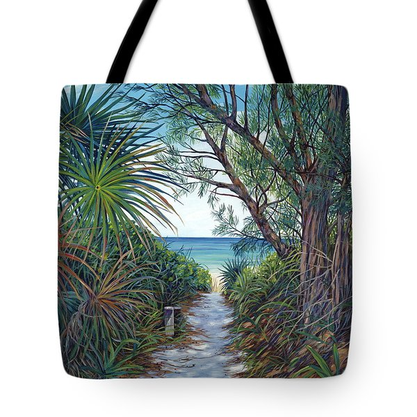 Path To Serenity Tote Bag by Danielle  Perry