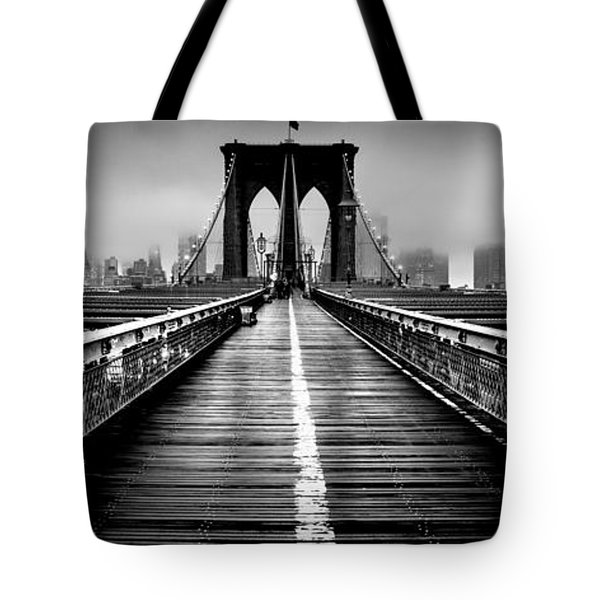 Path To The Big Apple Tote Bag by Az Jackson