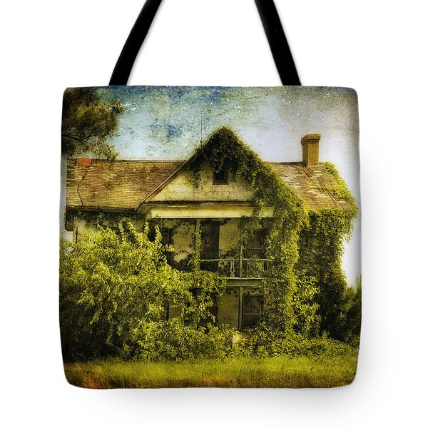 Patiently Waiting Tote Bag by Lois Bryan