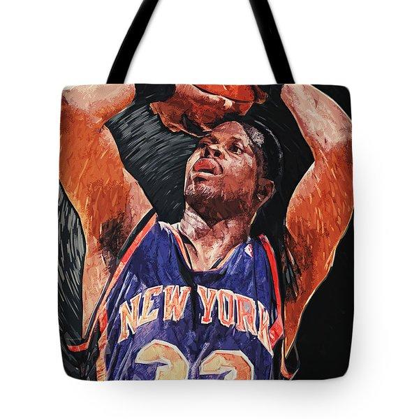 Patrick Ewing Tote Bag by Taylan Soyturk